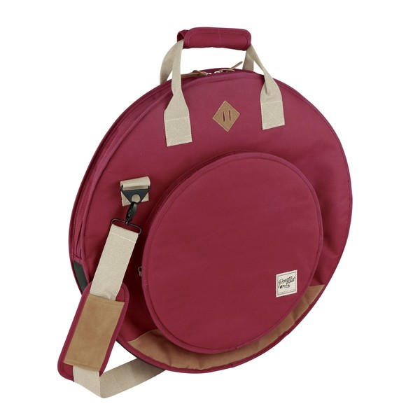 "Tama PowerPad Vintage Cymbal Bag 22"" (Wine Red) - Main Image"