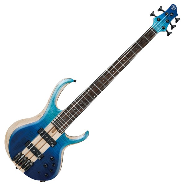 Ibanez BTB20TH5 20th Anniversary 5-String Bass, Blue Reef Gradation