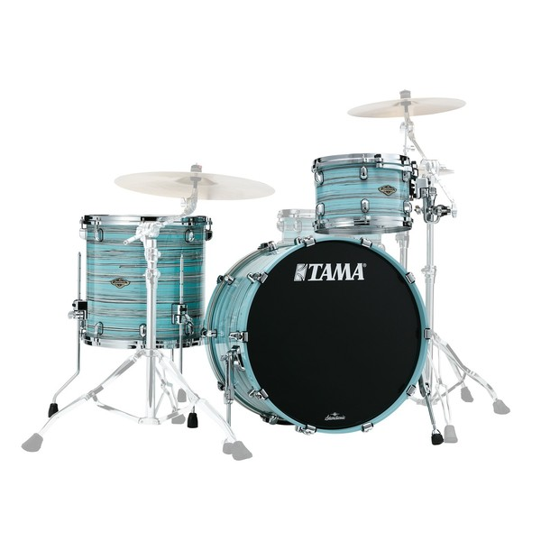 Tama Starclassic Walnut/Birch 3pc Shell Pack, Arctic Blue Oyster - Main Image