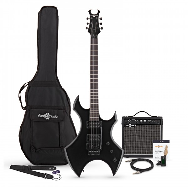 Harlem X Electric Guitar + Complete Pack, Black