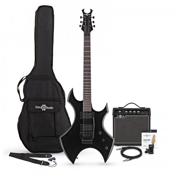 Harlem X Electric Guitar + Complete Pack, Black