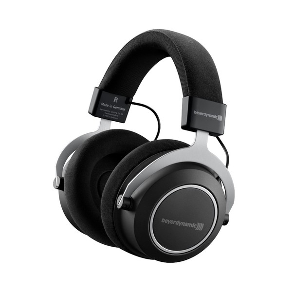 beyerdynamic Amiron Wireless High-End Closed-Back Headphones, Angled