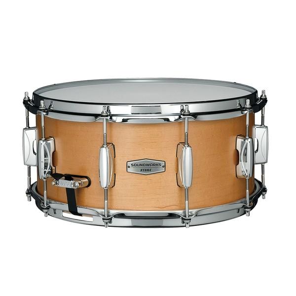 Tama Soundworks 14'' x 6.5'' Maple Snare Drum, Matte Vintage