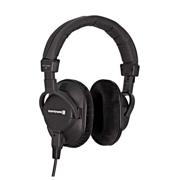 beyerdynamic DT 250 LTD Headphones with 88dB Limiter, 250 Ohm, Front Angled