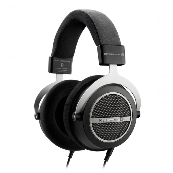 beyerdynamic Amiron Home Wired High-End Open-Back Headphones, Front Angled