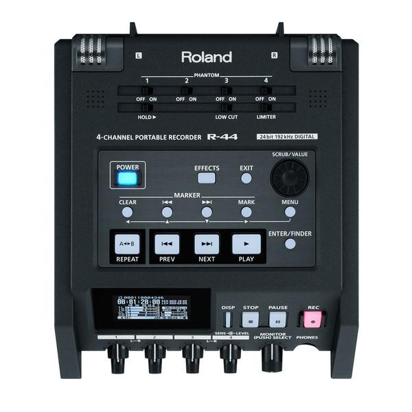 Roland R-44E 4 Channel Compact Portable Field Recorder