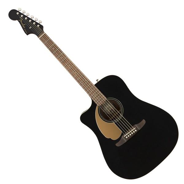 Fender Redondo Player WN Left Handed, Jetty Black - Main