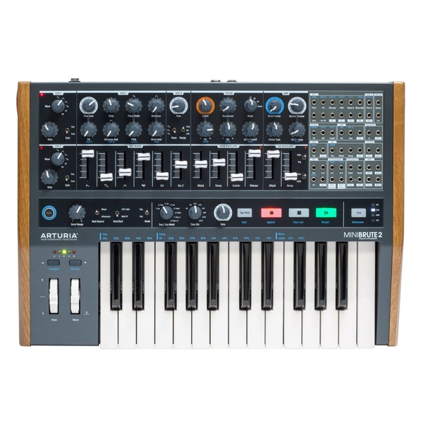 Arturia MiniBrute 2 Semi-Modular Analogue Synthesizer Main