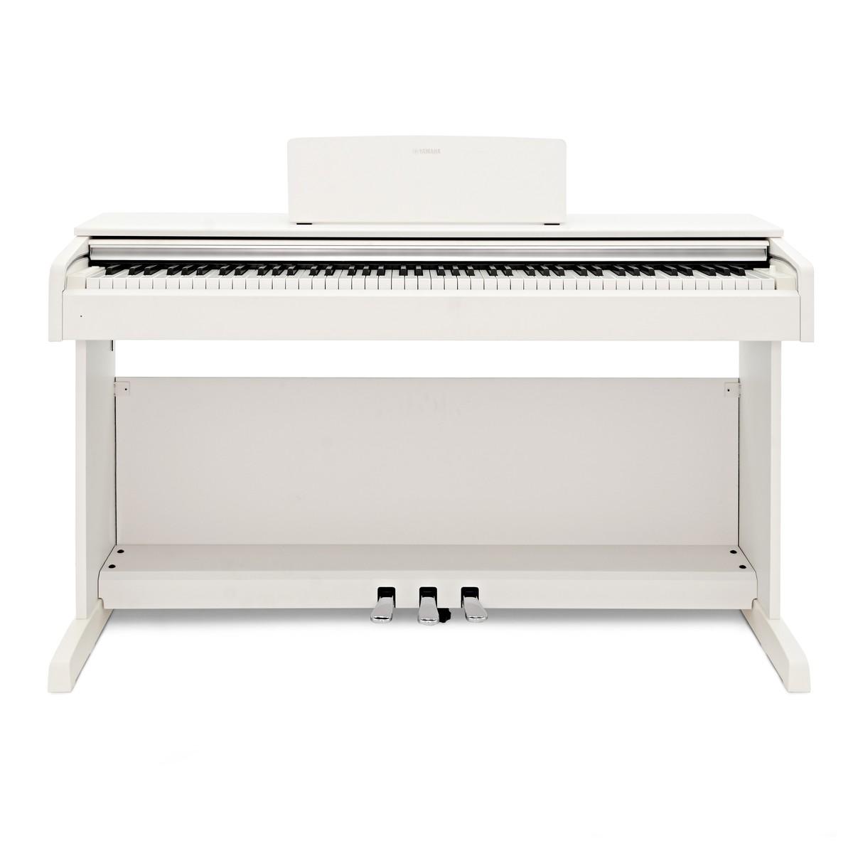 yamaha ydp 143 digital piano white at gear4music. Black Bedroom Furniture Sets. Home Design Ideas