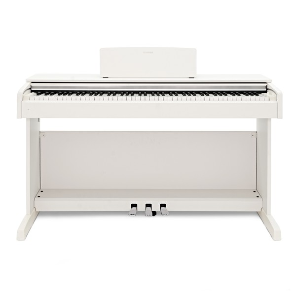 Yamaha YDP 143 Digital Piano, White main