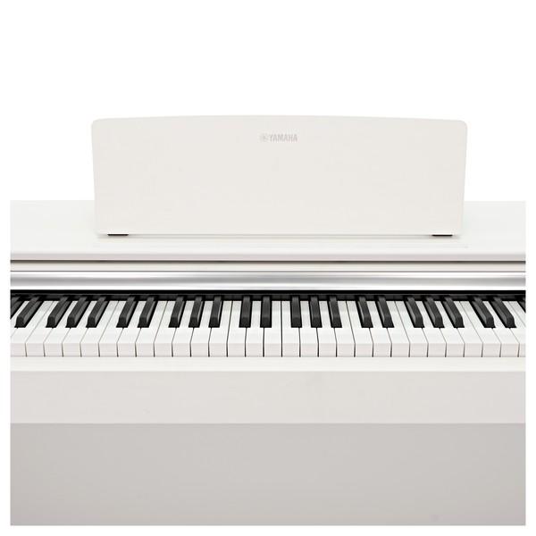 Yamaha YDP 143 Digital Piano, White keys front