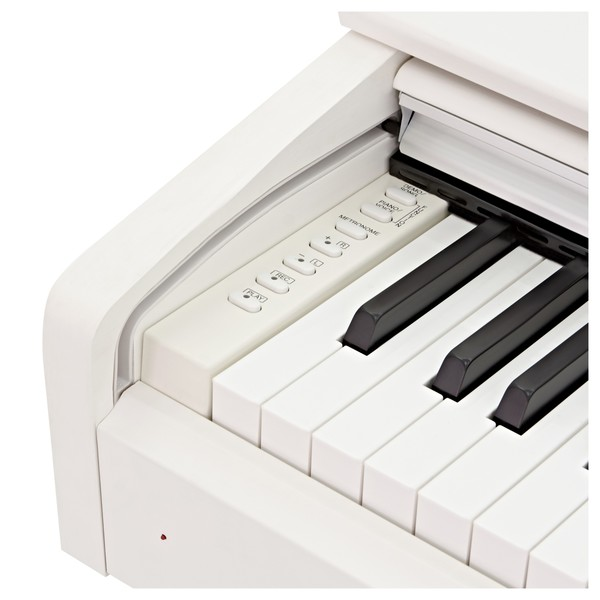Yamaha YDP 143 Digital Piano, White buttons