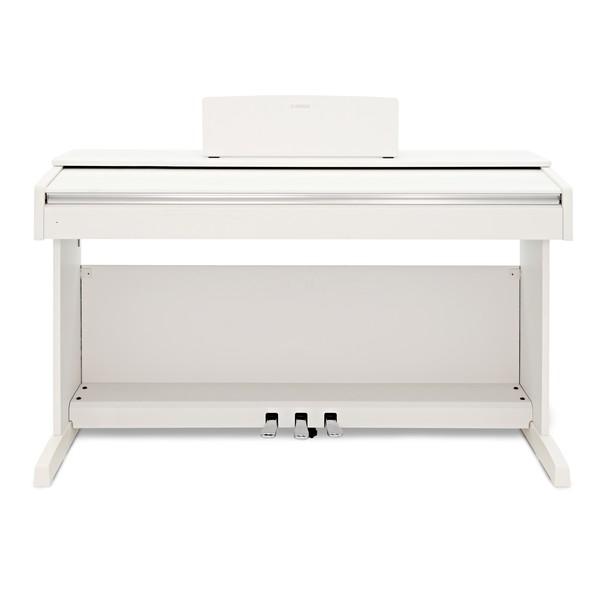Yamaha YDP 143 Digital Piano, White front closed