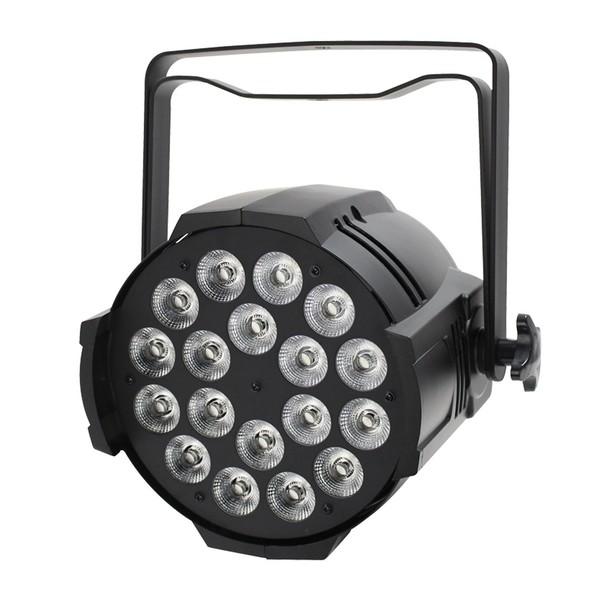 LEDJ Performer 18 RGBWA LED Par Can, Front Angled Unlit