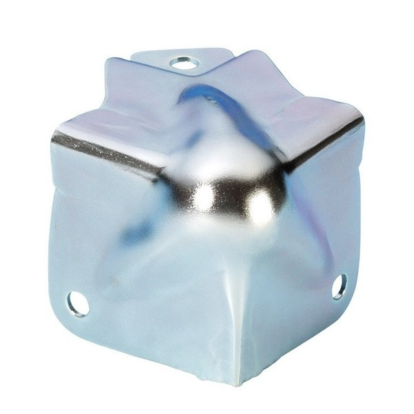 Adam Hall Medium Cranked Flightcase Ball Corner with Integrated Brace