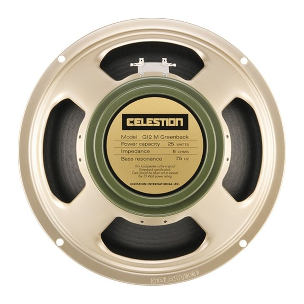 Celestion G12M Greenback 16 Ohm Speaker Front View