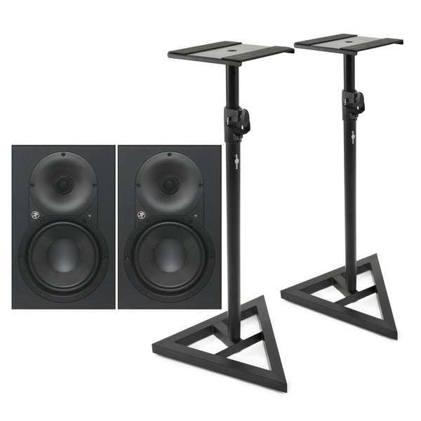 Mackie XR624 Active Studio Monitors with Stands - Main