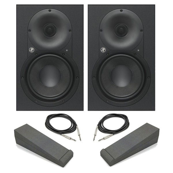 Mackie XR624 Active Studio Monitors with Pads - Main