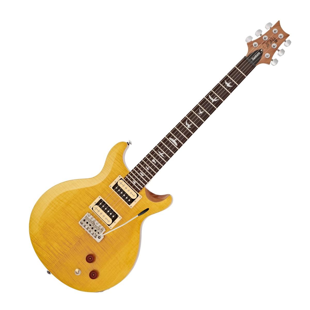 8a235e47b2 PRS SE Santana, Santana Yellow at Gear4music