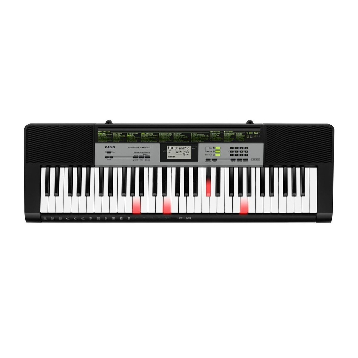 Casio Lk 135 Portable Keylighting Keyboard Black B