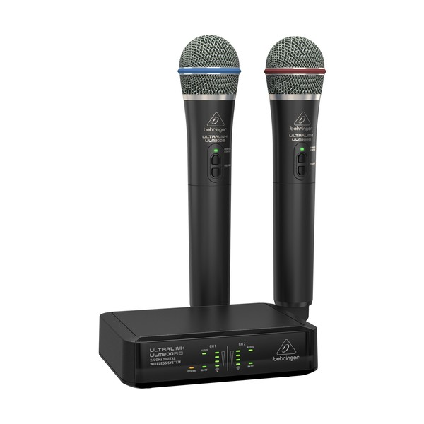 behringer ulm302mic dual digital wireless microphone system b stock at gear4music. Black Bedroom Furniture Sets. Home Design Ideas