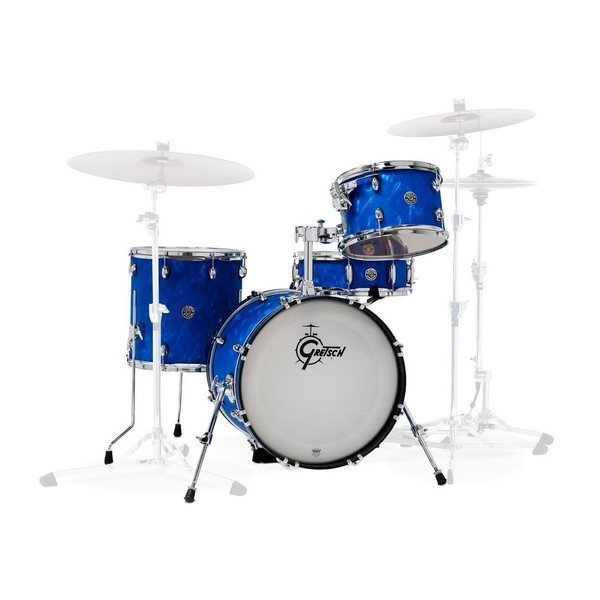 Gretsch Catalina Club Special 18'' 4pc Shell Pack, Blue Satin Flame