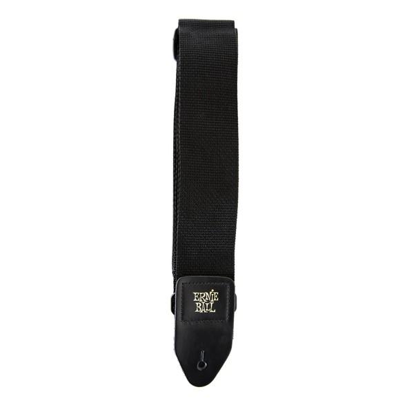 Ernie Ball 4037 Polypro Guitar Strap, Black - long part