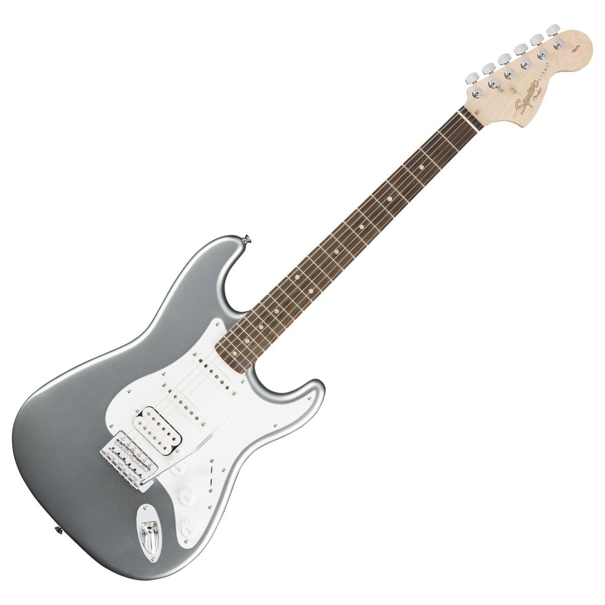 squier affinity stratocaster hss slick silver at gear4music. Black Bedroom Furniture Sets. Home Design Ideas