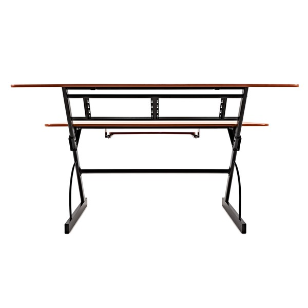 Large 3 Tier Studio Desk by Gear4music, 8U