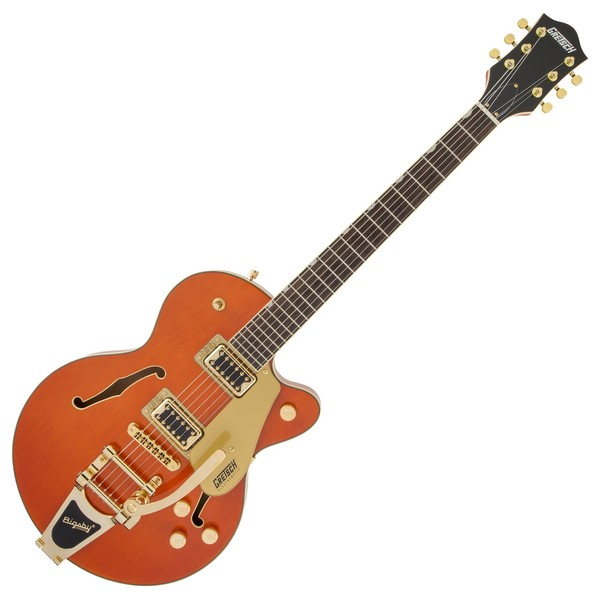 Gretsch G5655TG Electromatic CB Jr, Orange Stain