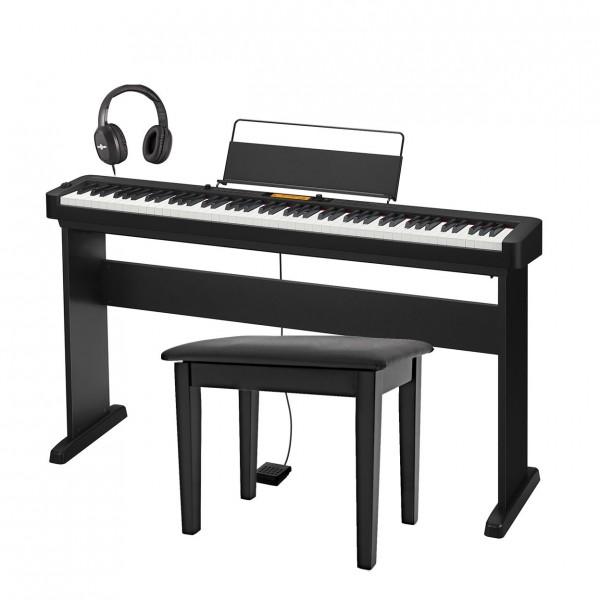 Casio CDP S350 Digital Piano Package, Black