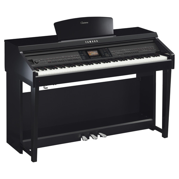 Yamaha Clavinova CVP701 Digital Piano, Polished Ebony