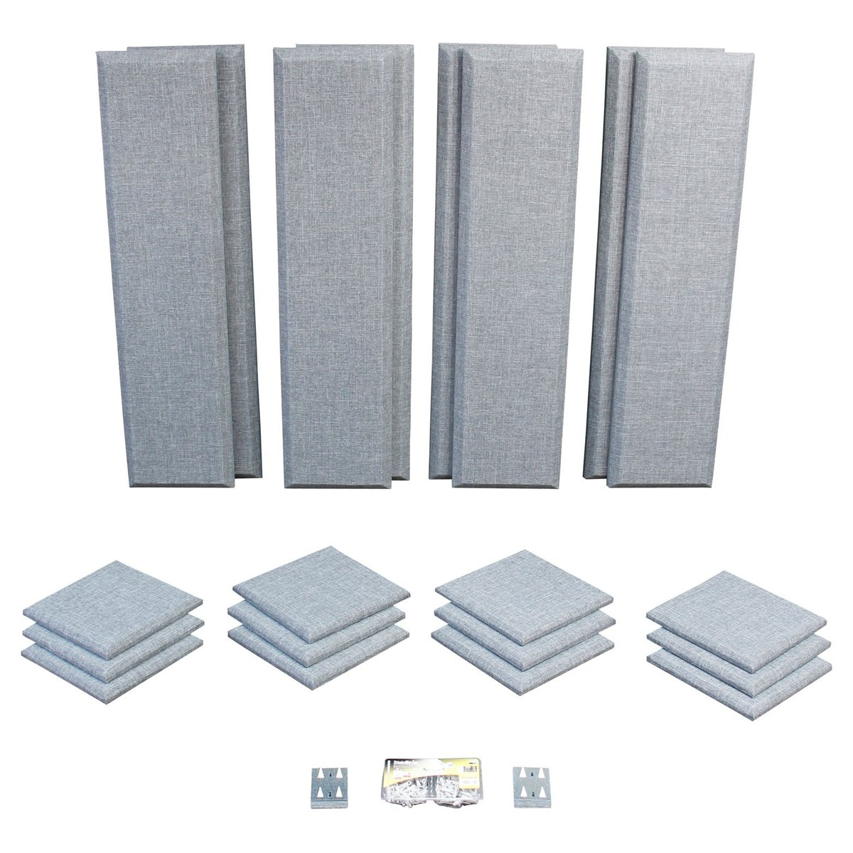 Click to view product details and reviews for Primacoustic London 10 Room Kit In Grey.