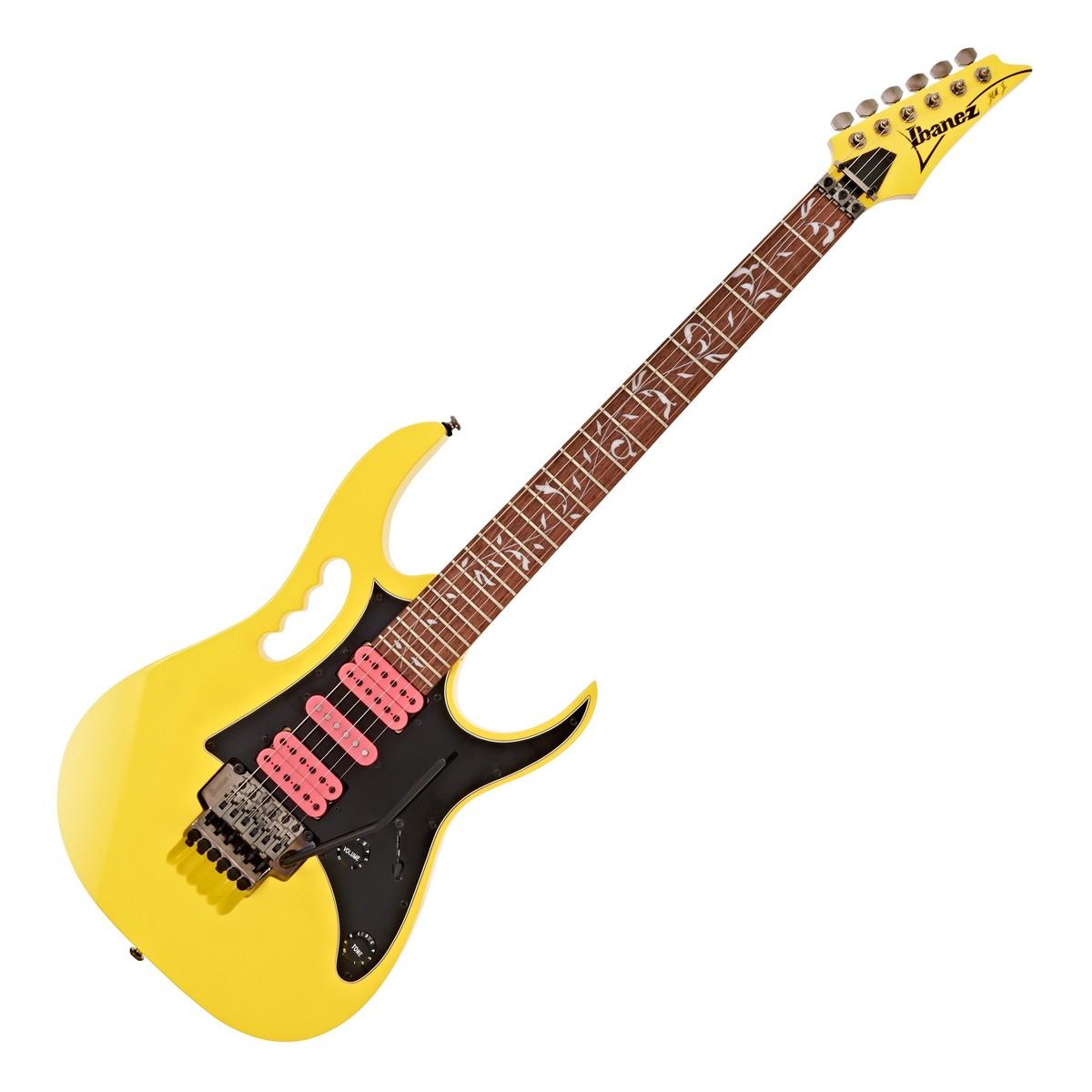 ibanez jem junior steve vai yellow at gear4music. Black Bedroom Furniture Sets. Home Design Ideas