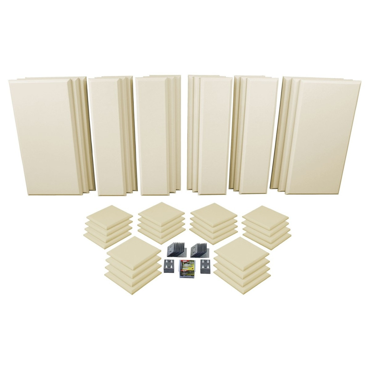 Click to view product details and reviews for Primacoustic London 16 Room Kit In Beige.