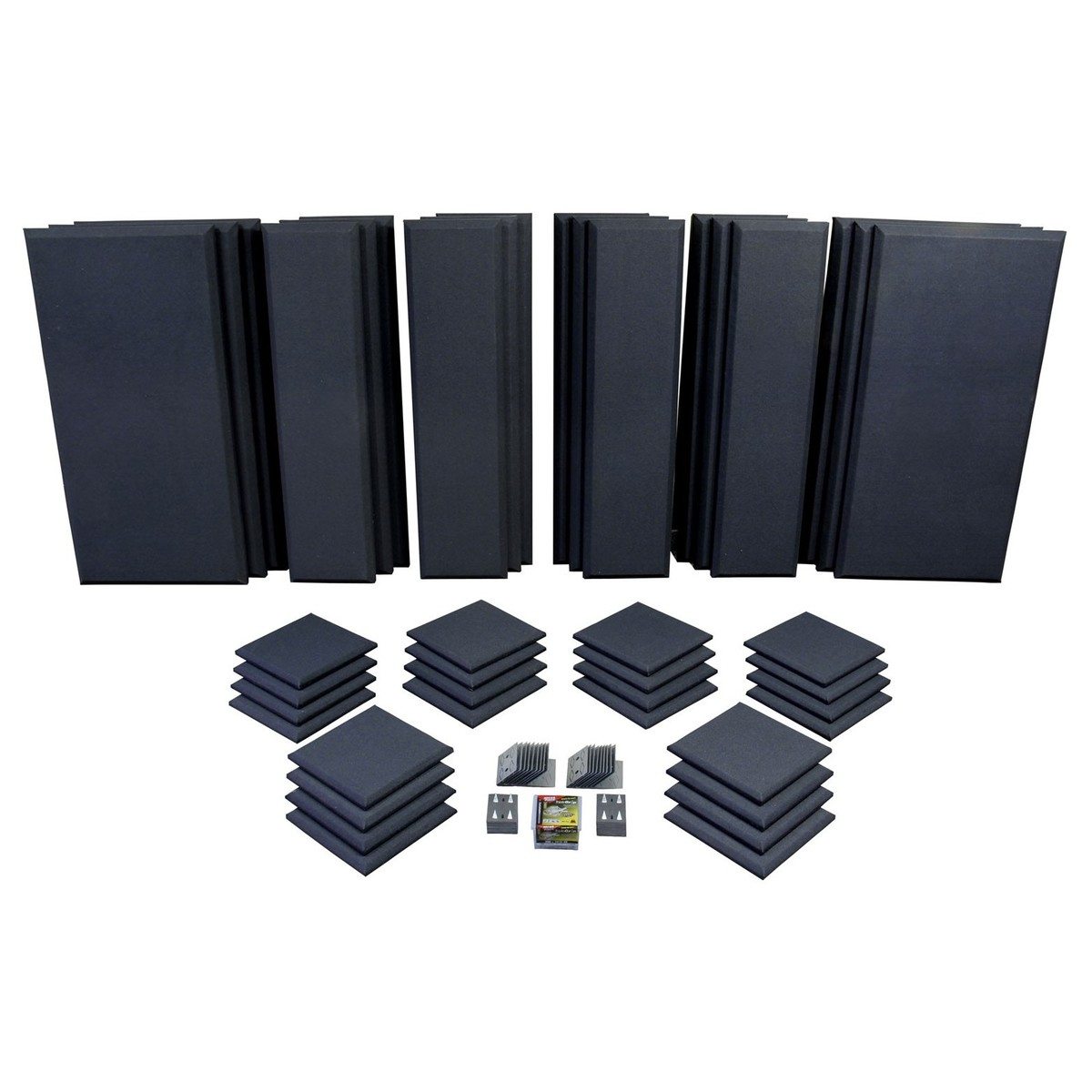 Click to view product details and reviews for Primacoustic London 16 Room Kit In Black.