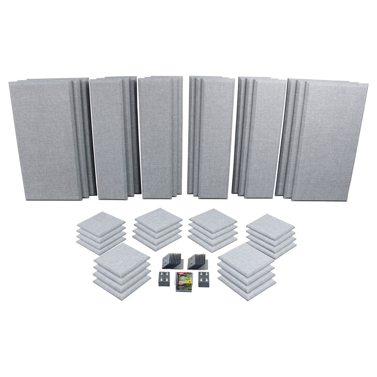 Click to view product details and reviews for Primacoustic London 16 Room Kit In Grey.