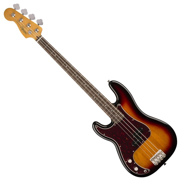 Squier Classic Vibe 60s Precision Bass LRL LH, 3-Tone Sunburst