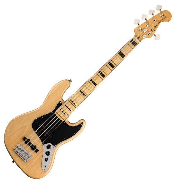 Squier Classic Vibe 70s 5-String Jazz Bass MN, Natural