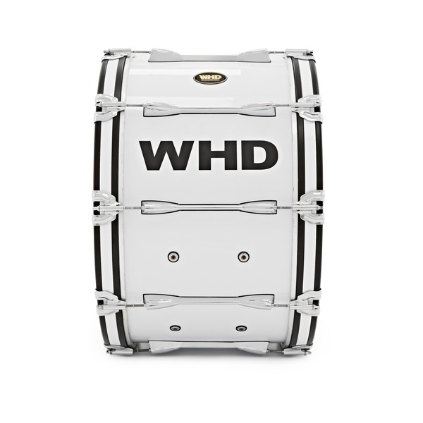 """WHD 24"""" x 14"""" Professional Marching Bass Drum with Carrier"""