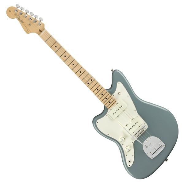 Fender American Pro Jazzmaster MN Left Handed, Sonic Gray - Main