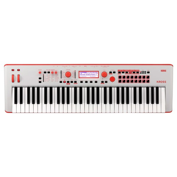 Korg Kross 61 SE, Neon Red - Top
