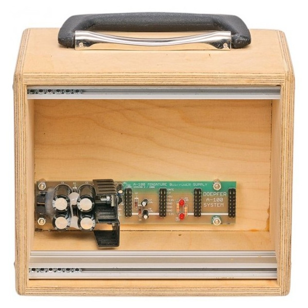 Doepfer A-100MC Mini Case, Raw - Nearly New at Gear4music