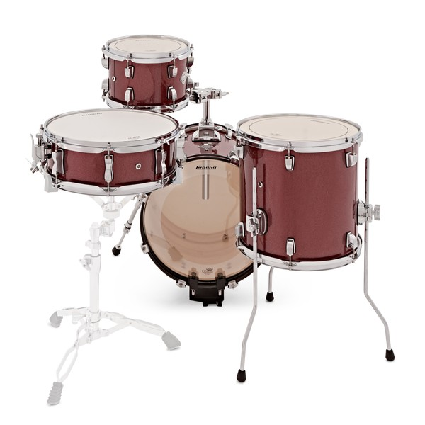 ludwig breakbeats questlove 16in 4pc shell pack wine red b stock at gear4music. Black Bedroom Furniture Sets. Home Design Ideas