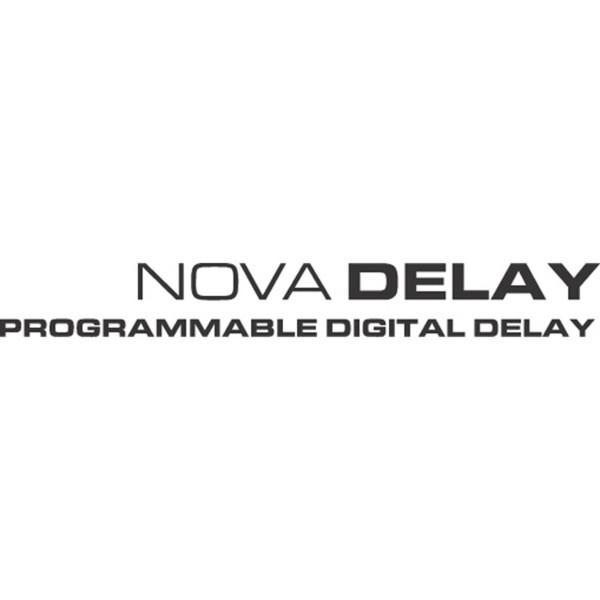 tc electronic nova delay guitar effects pedal