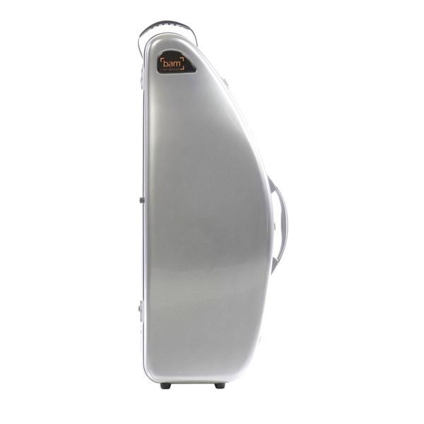 BAM DEF4012S La Defense Tenor Saxophone Case, Brushed Aluminium