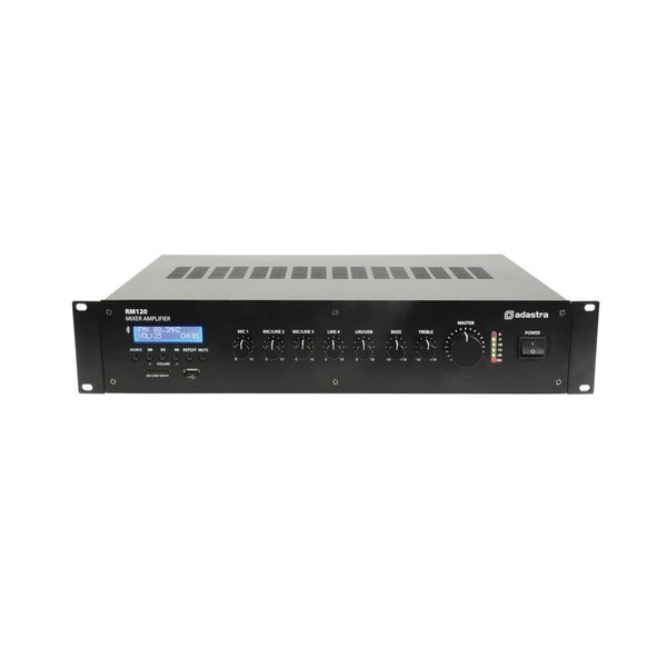 Adastra RM120 5-Channel 100V Mixer Amplifier