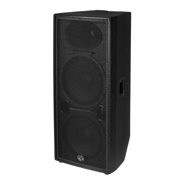 Wharfedale Pro Delta 215 3-Way Dual-15'' Passive Loudspeaker, Angled Left