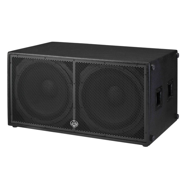Wharfedale Pro Delta 218B 18'' Passive Dual-Chamber Subwoofer, Angled Left