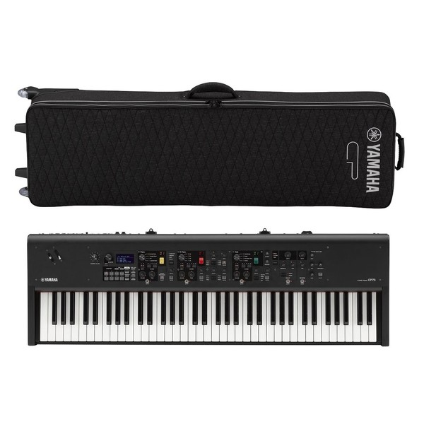 Yamaha CP73 Digital Stage Piano with Softcase - Full Bundle